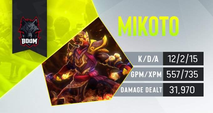 Mikoto BOOM Esports