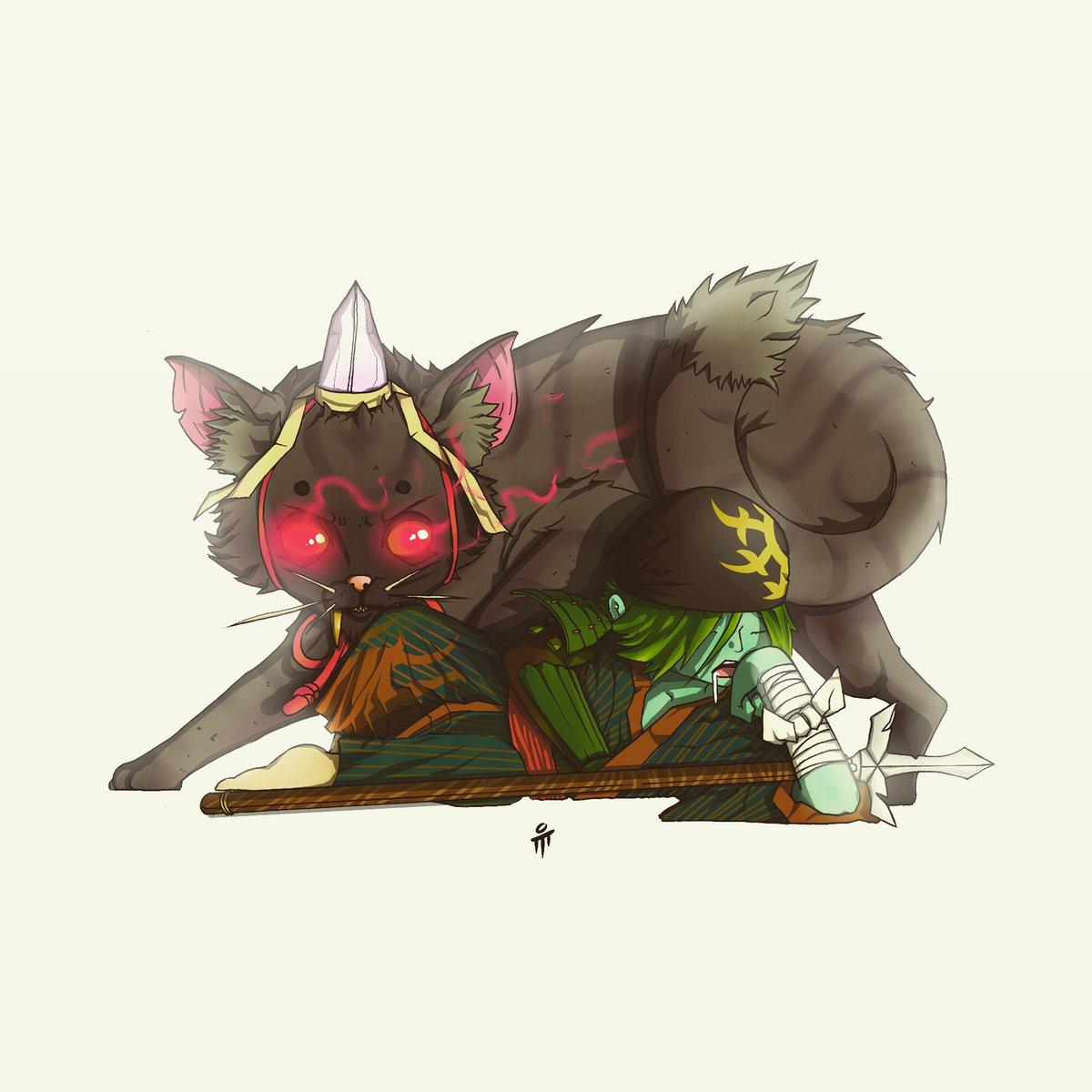 5 : People calls him Nabeshima Bakeneko or Vampire Cat Of Nabeshima!   #mumur1  #artwork  #manga #anime  #penandink  #digitalpainting #digitalcoloring #illustration  #characterdesign #indonesia  #PaintoolSai #pendrawing pic.twitter.com/qBI3mw5M8o