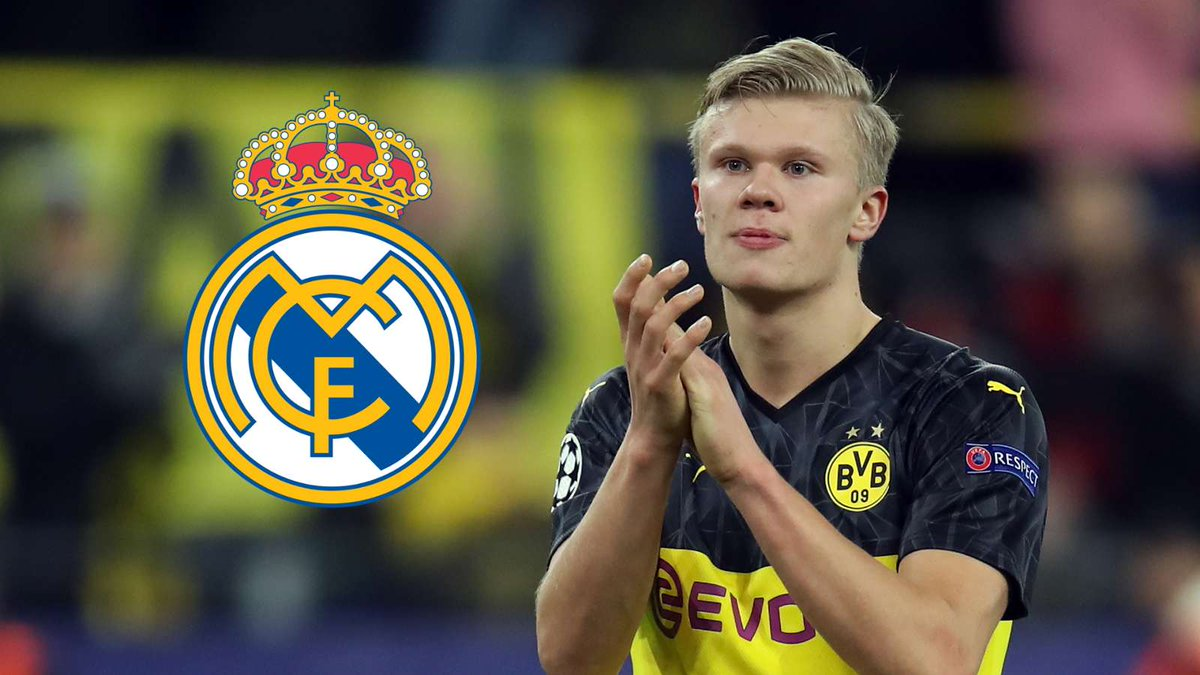 Erling Haaland to Real Madrid...  Discuss.