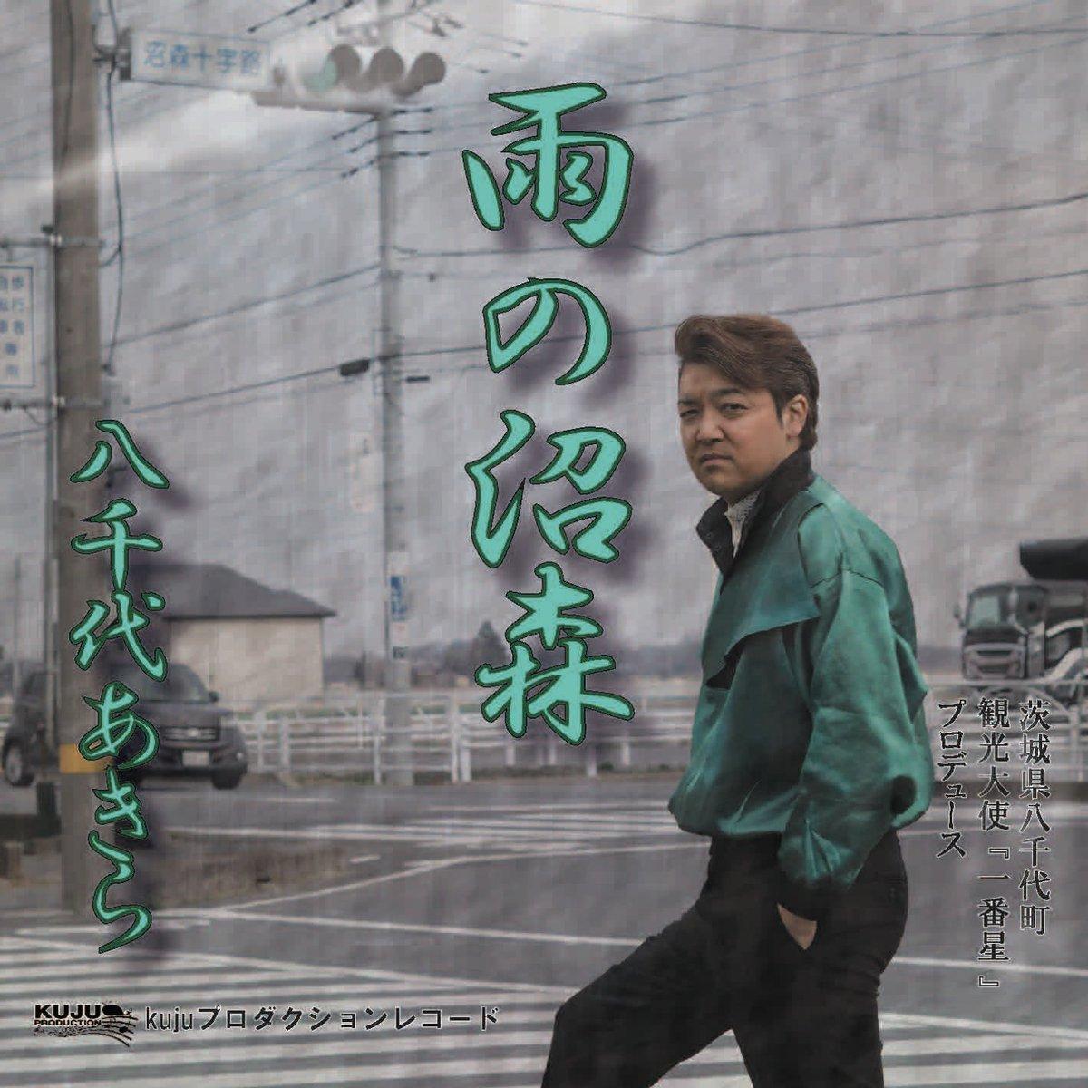 雪も止みましたね「雨の沼森(ぬまのもり)」◎ダウンロード&視聴◎Spotify◎ iTunes◎YouTubeよろしくお願い致します!#茨城県 #八千代町 #八千代あきら