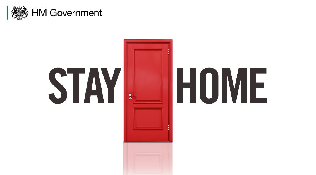 You must stay at home, to protect the NHS and save lives. #StayHomeSaveLives