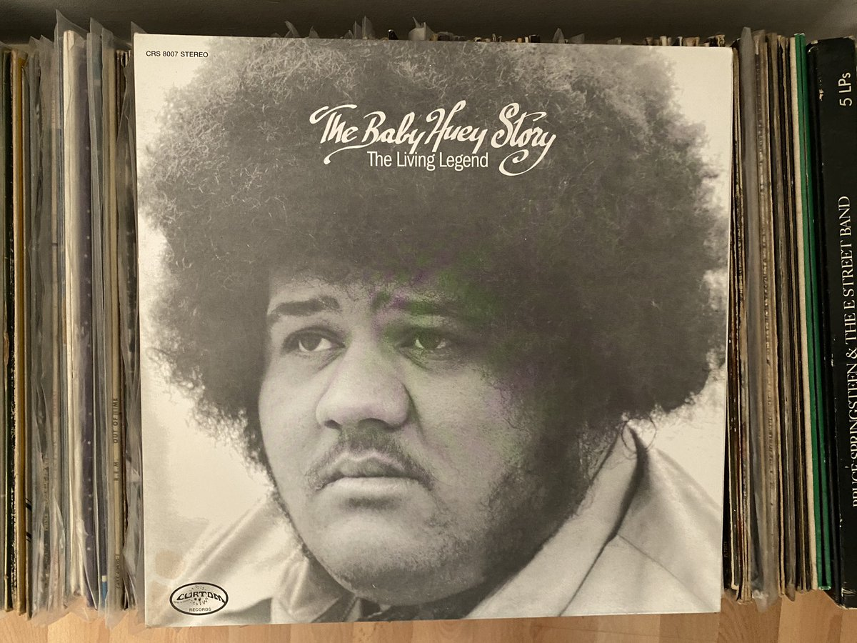 Day 9: looks like we found the first mistake in the alphabetisation of the collection. But you don't want to miss taking 40 minutes and 9 seconds out of your day for this stone-cold mallet. You will not regret this. The Baby Huey Story: The Living Legend (1971) #recordaday pic.twitter.com/b7Uu18mKwo