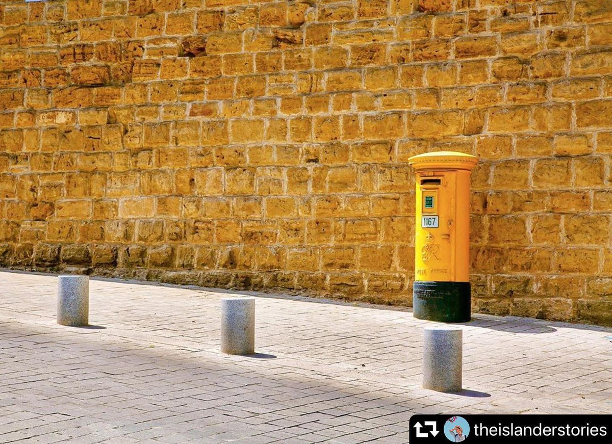 One of the last remnants of the island's history as a #British colony, the iconic red #mailboxes, were painted yellow after the country's independence in 1960. Today, you can still find these iconic mail boxes across #Nicosia.  #ilikenicosia #welovenicosia #Cyprus #Europe pic.twitter.com/tX7i9mdQmZ