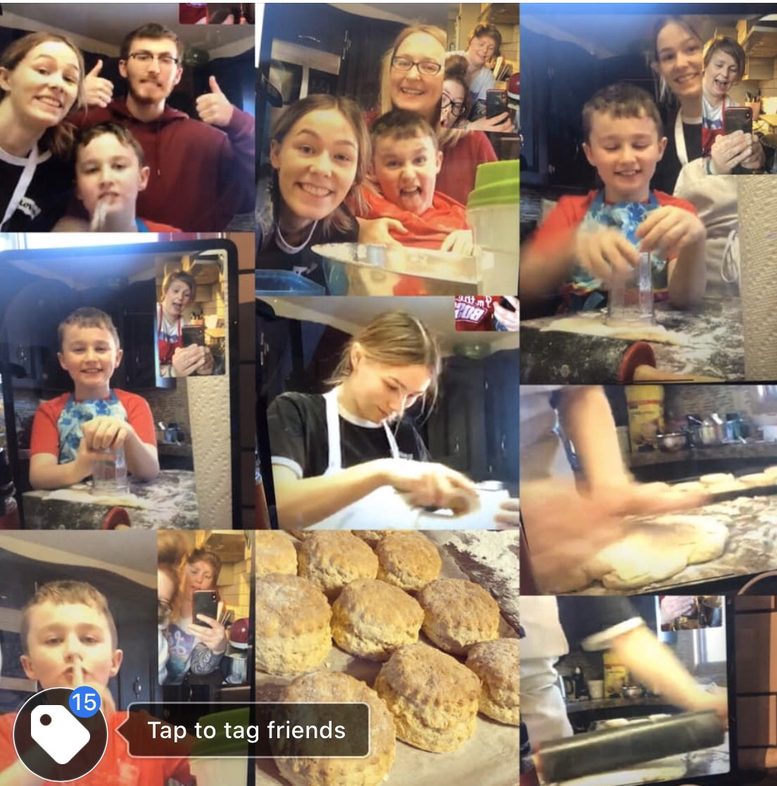 Our 1st online #Irish #Canadian #baking #masterclass is complete      #familypic.twitter.com/ZPrbxZwIwq