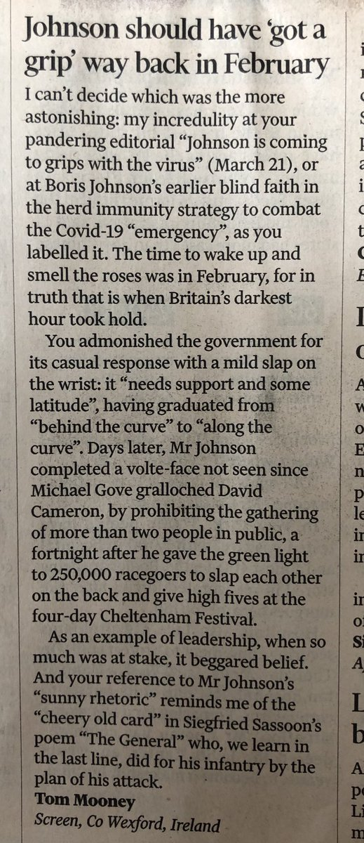 letter to the @ft and worth reading right to the end