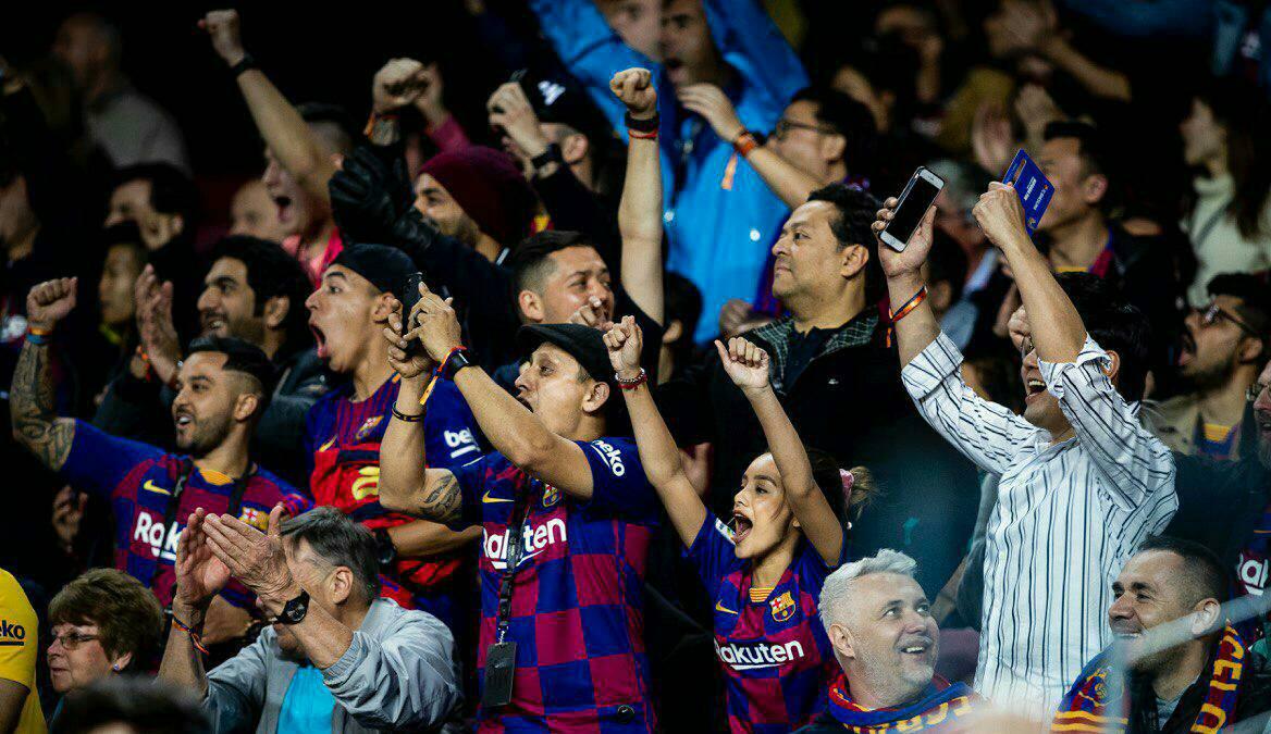 🤔 لاعب من بلدك (كنت) تتمنى رؤيته بقميص #برشلونة على المستطيل الأخضر؟🤔