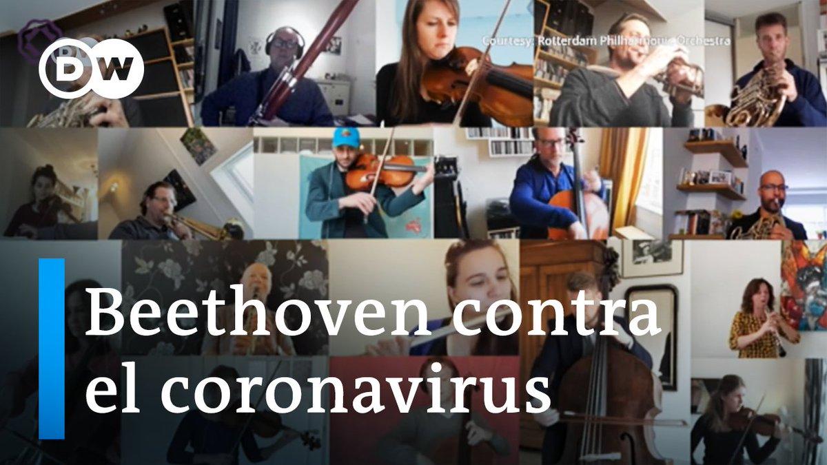 Image for the Tweet beginning: Filarmónica de Rotterdam toca desde