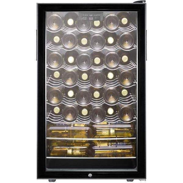 "Summit 40 Bottle 20"" Wide Wine Fridge SWC525L  Get yours today! Buy it here https://buff.ly/2ycBWot  Free Shipping in Lower 48 USA Financing Available!  #summit #wine #winelover #winewednesday #winenight #winetime #winegeek #winelove #homebar #kitchen #winecooler #winefridgepic.twitter.com/NeGfXuDg07"