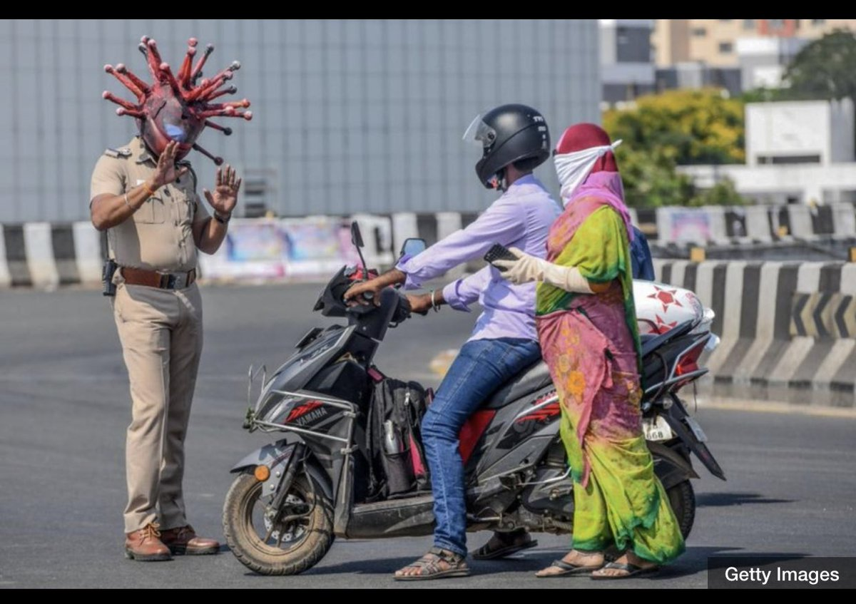 Maybe the Indian police are onto something here
