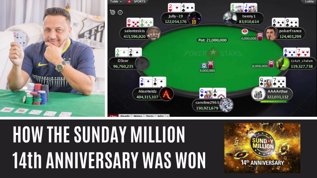As its Sunday, heres a look back at how last weeks #SundayMillion  14th Anniversary final table played out, as told by the players themselves.   https://psta.rs/2Jn6JRN