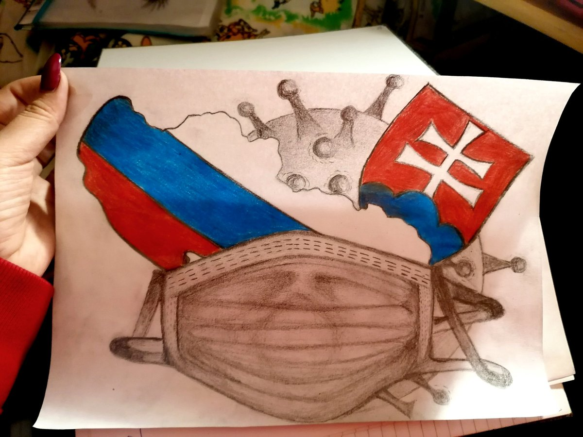 My ideas on the paper #art #Slovakia #Covid_19 #drawings #picture pic.twitter.com/Xi1AK7QueY