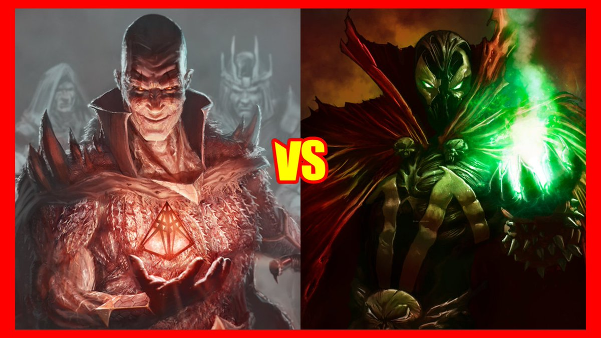 It seems we have multiple candidates for the Halloween special this year. Might have to have it determined by votes closer to the time. #Versus #vs #Halloween