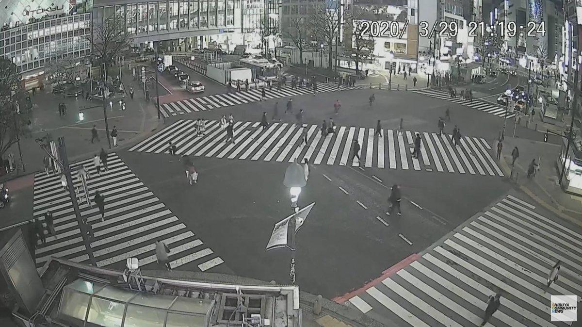 渋谷 交差点 の ライブ カメラ