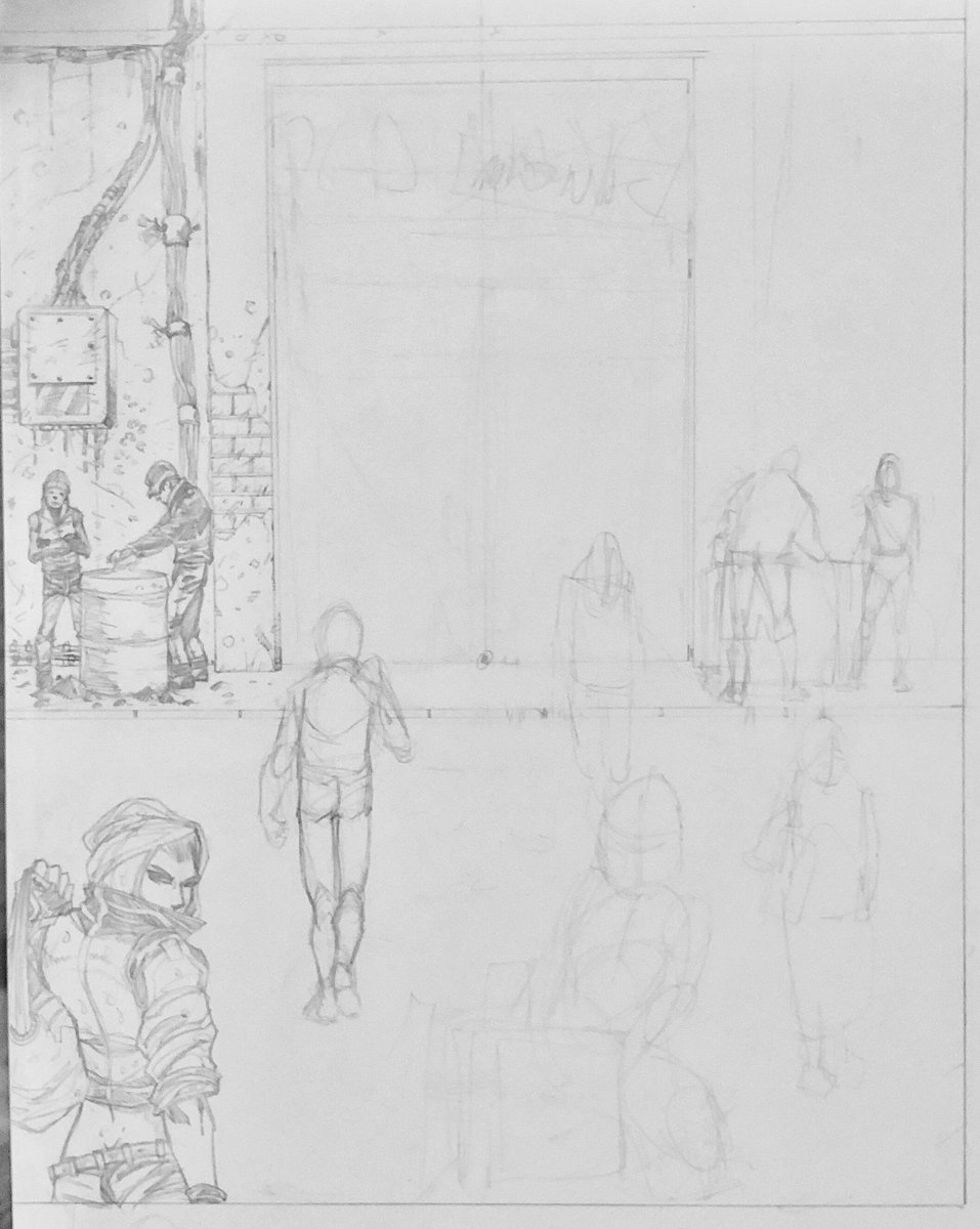 Started another illustration for couple of details. All for my new project with @ashcancomicspub and @JaySandlin_WHN #wip #drawing #pencildrawing #pencil #pencilillustration #cyberpunk #futuristic #illustration #pencilart #artwork #scifi #independentartist #indiecomicspic.twitter.com/ipr3EDFgAV