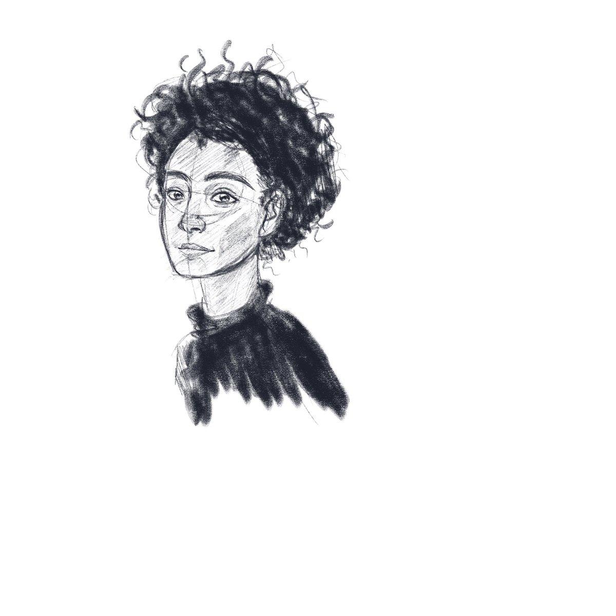 Warm-up sketch! #portraits pic.twitter.com/RLi10WWoxY