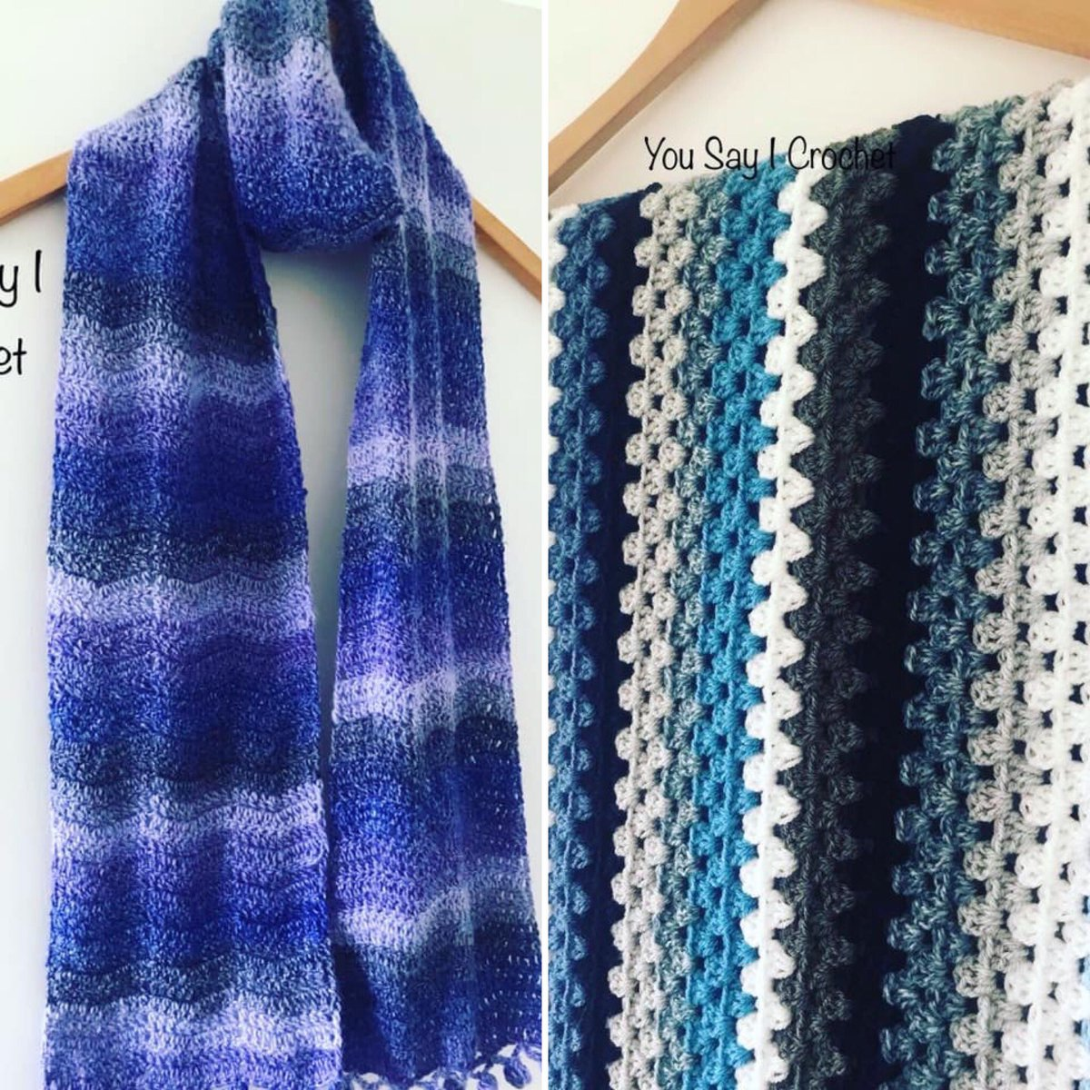 Both sold today #etsyshop #scarf #blanket #yousayicrochet #handmadehour #crafthour #crochet #selfisolation #lockdownpic.twitter.com/HOqD08ywBp