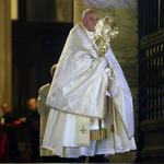"""Image for the Tweet beginning: The Pope: """"stop all wars""""..."""