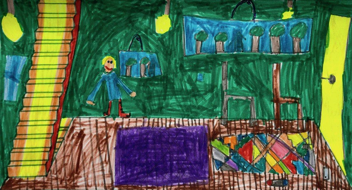 Mes enfants ont été ravis et très enthousiastes de participer à la #CoronaMaison ! Bravo pour cette belle idée participative qui rajoute un peu de couleur en cette période http://coronamaison.funpic.twitter.com/49L6Kmp0Lj