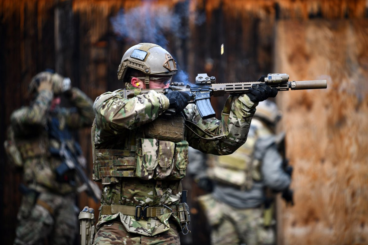 US Military News • US Army Special Forces Soldiers • Range Training • Stuttgart Germany