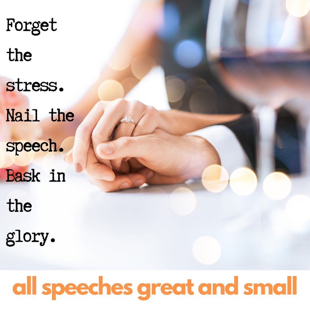 Our speeches are entirely unique and individual. So save your guests from the recycled internet jokes and let us write for you! https://buff.ly/3dnAZKc #groom #groomspeech #groomsspeech #weddingspeech #weddinginspo #weddingspeechhelp #weddingsof insta #groomspeechtips #speechpic.twitter.com/Tmy5ckrm8L