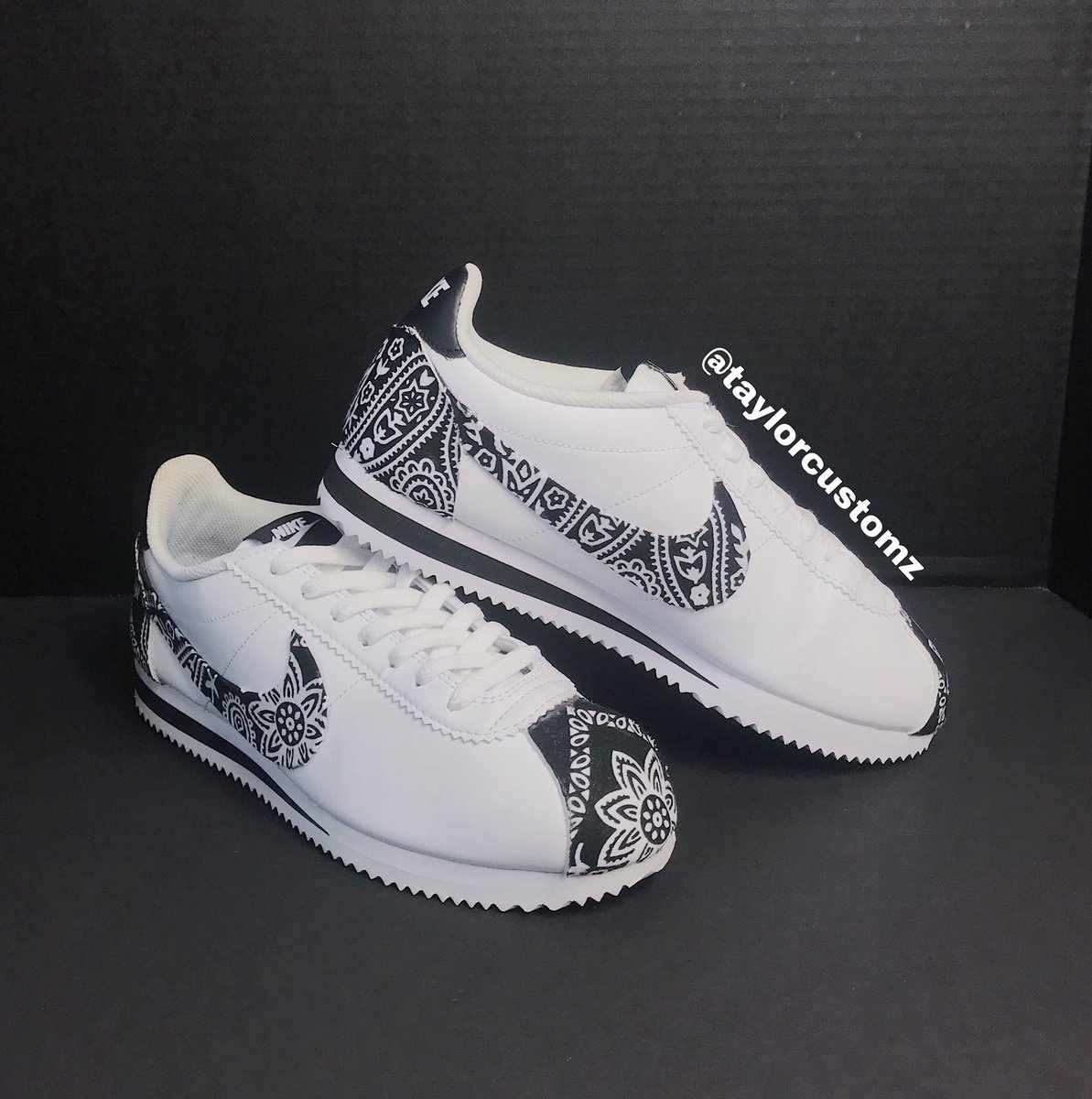 Black Bandana Nike Cortez