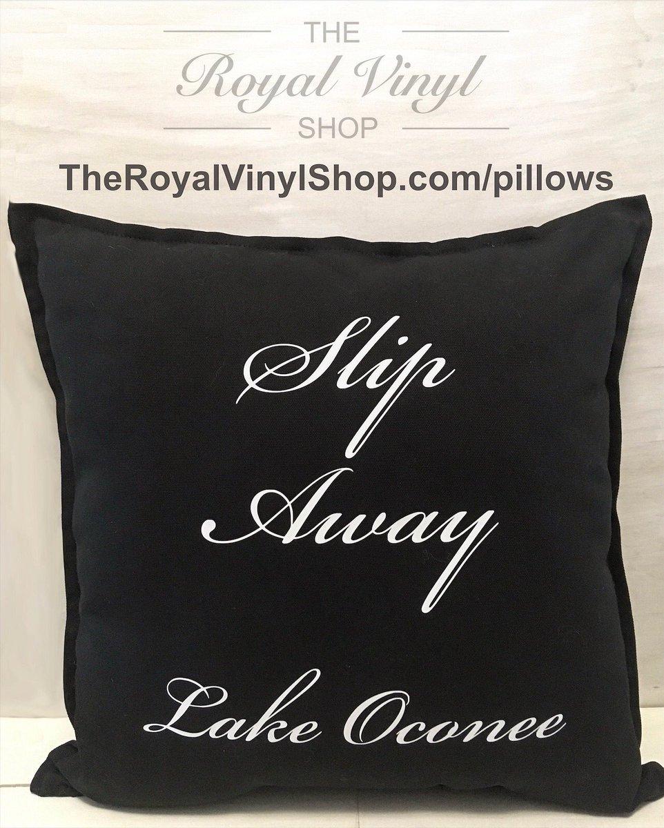 Customize your own pillows @ http://TheRoyalVinylShop.com/pillows #theroyalvinylshop #royalvinylshop #royalvinyl #pillow #pillows #custompillow #custompillows #personalizedpillow #personalizedpillows #personalizedgifts #customizedgifts #giftideas #home #homedecor #lake #lakeoconee #lakehouse
