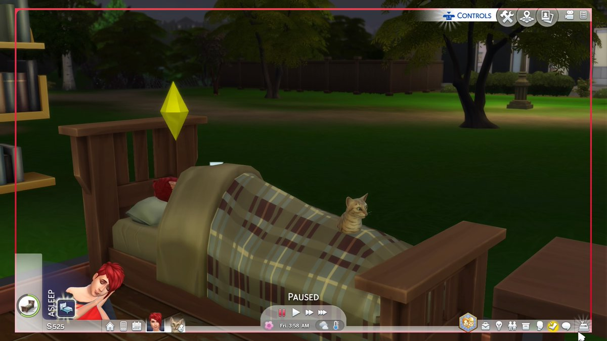 Sneaky cat Is sneaky #TheSims4 #Kitty #Funnycat #PS4share