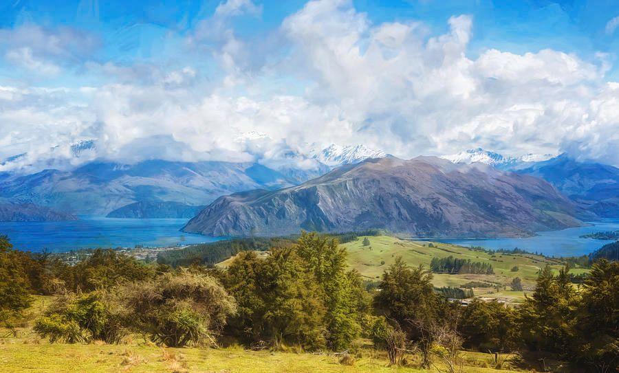 Wanaka New Zealand Painterly https://buff.ly/2u4LmAz #wanaka #NewZealand #landscape #landscapephotography #artistic #painterly #lake @joancarroll