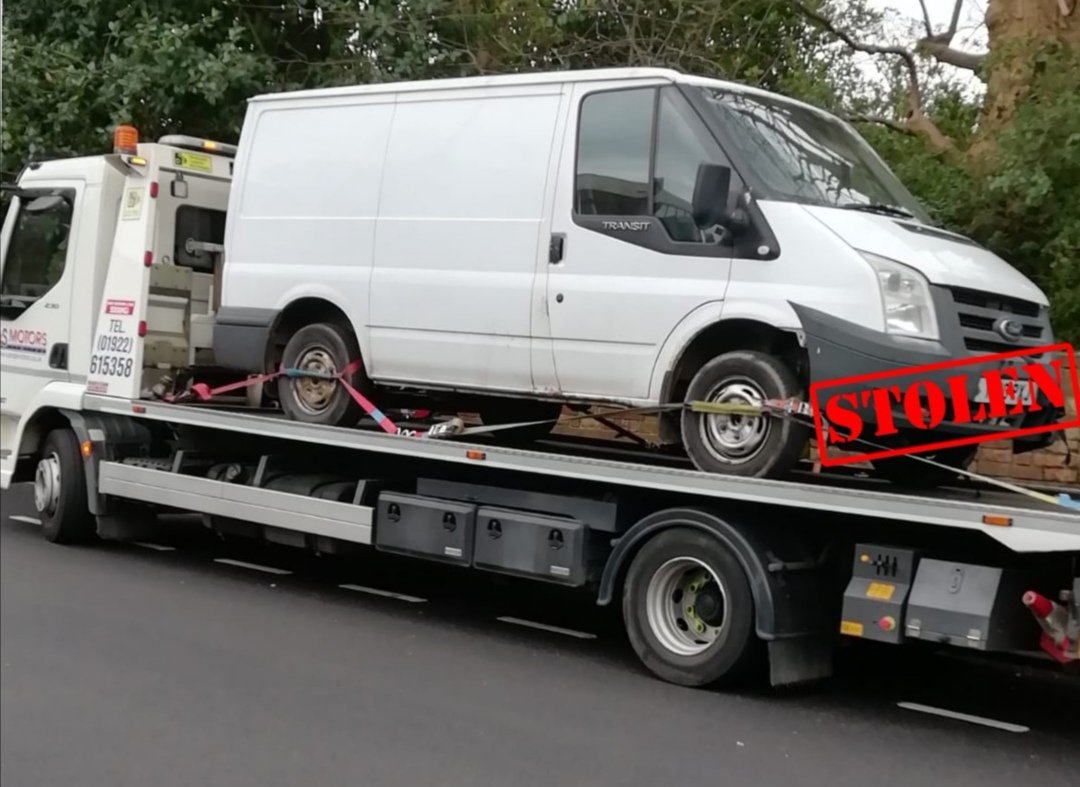 Stolen vehicle recovered today in #Bloxwich by the Bloxwich Neighbourhood Policing Team @WalsallInspWMP #stolencarsmidlands pic.twitter.com/oyvCWnE2OH