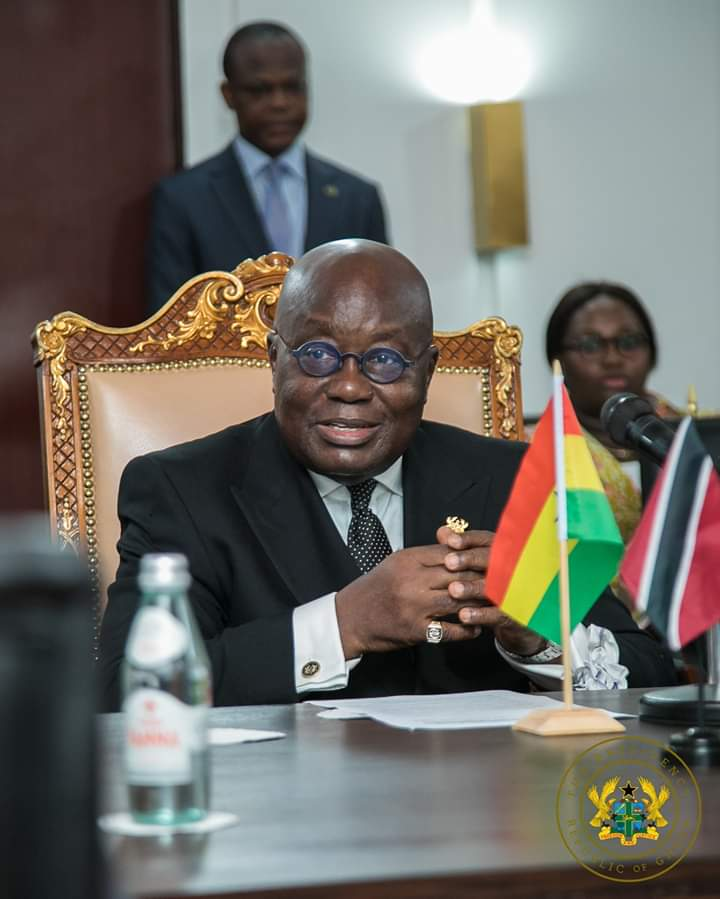 Happy Birthday to His Excellency @NAkufoAddo. God bless you for your able leadership and especially for  your unflinching leadership and support in this #COVID19 times. Happy 76th Sir!!!<br>http://pic.twitter.com/3jFFUuUlz1