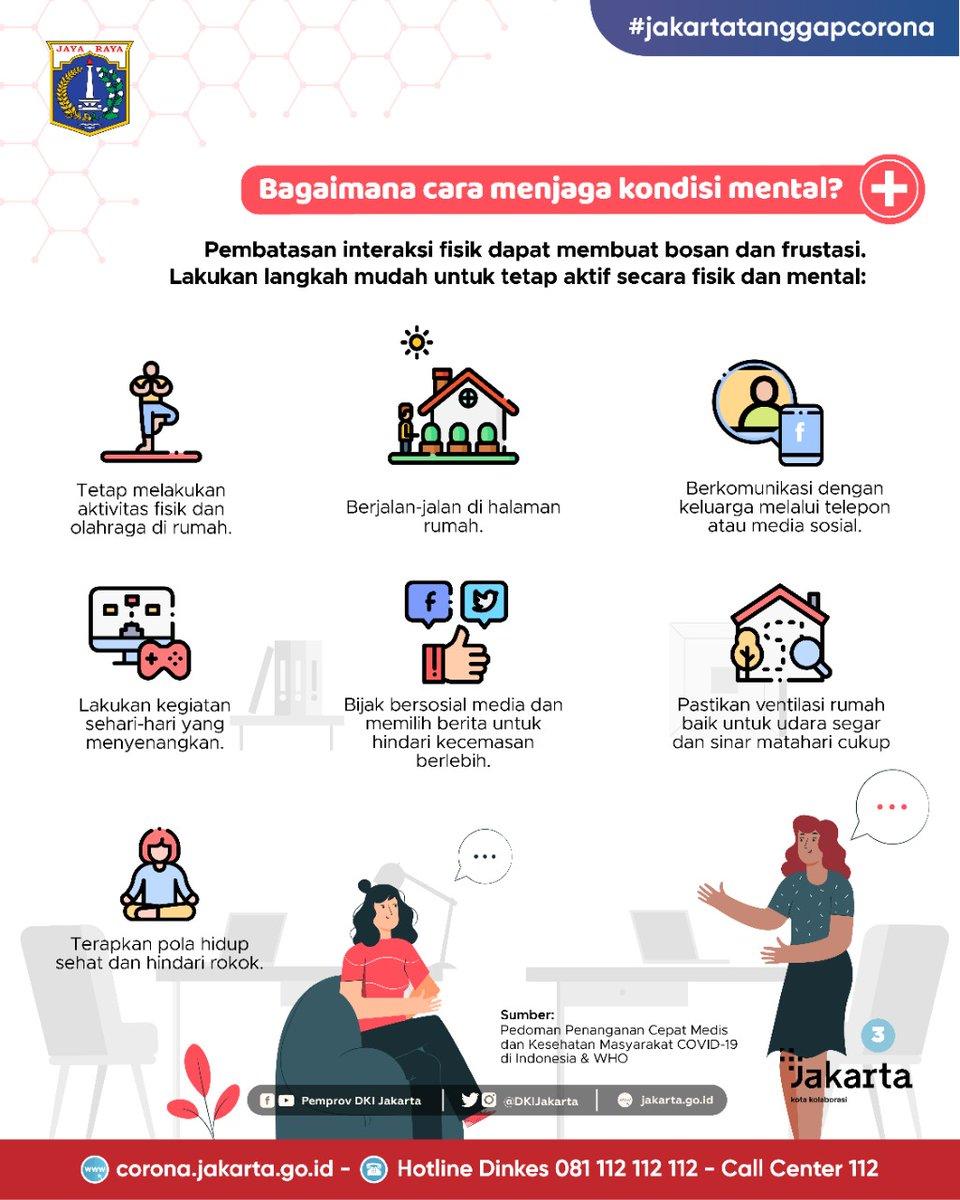 Pemprov Dki Jakarta En Twitter Selain Meningkatkan Imunitas Tubuh Dan Kebersihan Ada Langkah Kewaspadaan Yang Juga Nggak Boleh Dilupakan Yaitu Memperhatikan Kesehatan Mental Lalu Bagaimana Caranya Kita Menjaga Kesehatan Mental