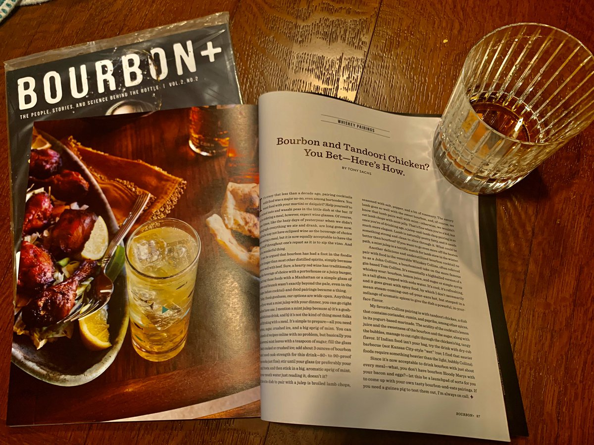 Thrilled to have my first piece in @Bourbonplus - out now! Thanks for inviting me on board, @FredMinnick.pic.twitter.com/AzwTxfvnwd