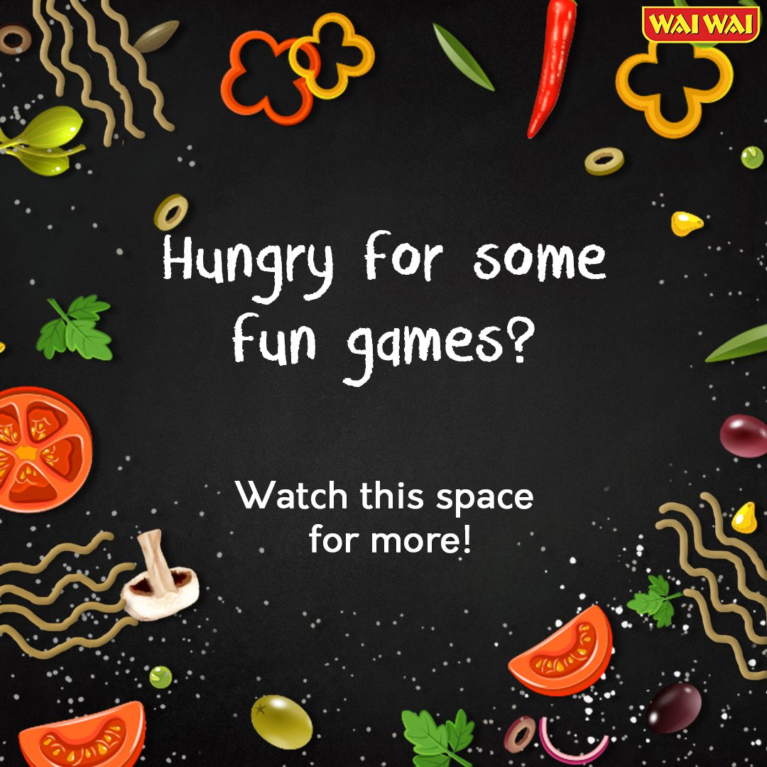 Stay tuned! Something exciting coming up to pass your quarantine. . . #waiwai #food #snacks #lunch #munch #quarantinelife #pass #lockdown #game #fightagainstcoronapic.twitter.com/c0F7fov0Yf