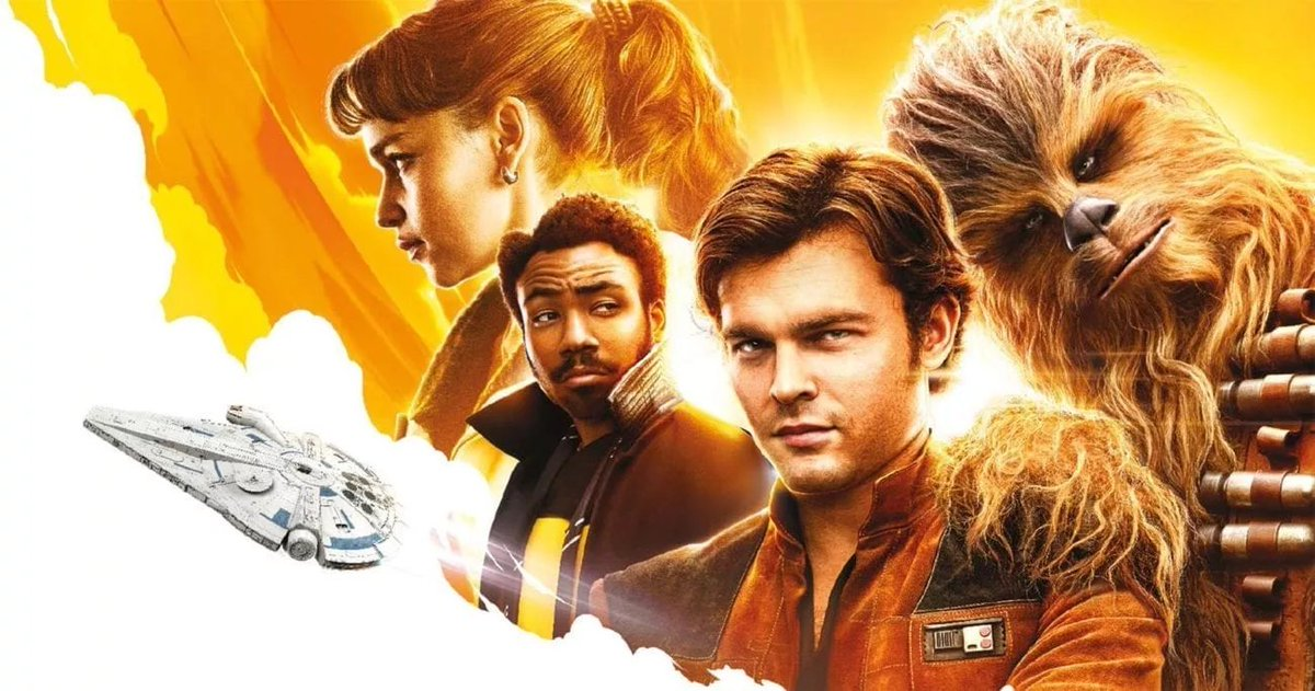 """Woke up with a hankering to watch Solo: A Star Wars Story...so that's exactly what I'm doing! It's really grown on me.   Also, I don't think I've ever used the word """"hankering"""" in a sentence before. #StarWars pic.twitter.com/d2MCKIZuDl"""