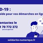 Image for the Tweet beginning: #SolidaritéNumérique #COVID19  📻 @cedric_o sur @TelSonne