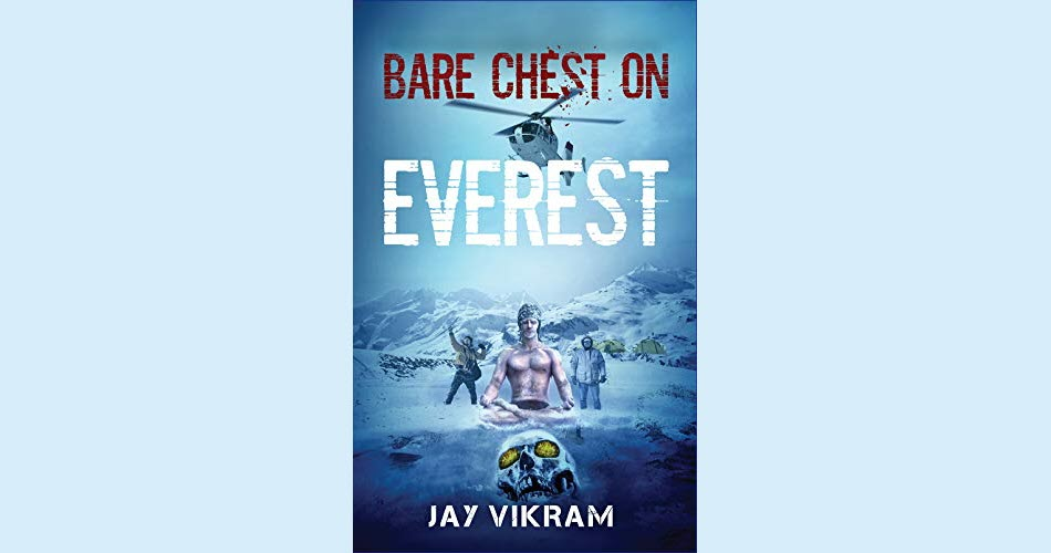 """#Adventure #Paranormal #Humor This intense story transports you to the #Himalayas where an unlikely trio embarks on an exciting expedition. Fate has amusing plans of its own & brings their worst nightmares to life in """"Bare Chest on Everest.""""  https://amzn.to/3dofuJa"""
