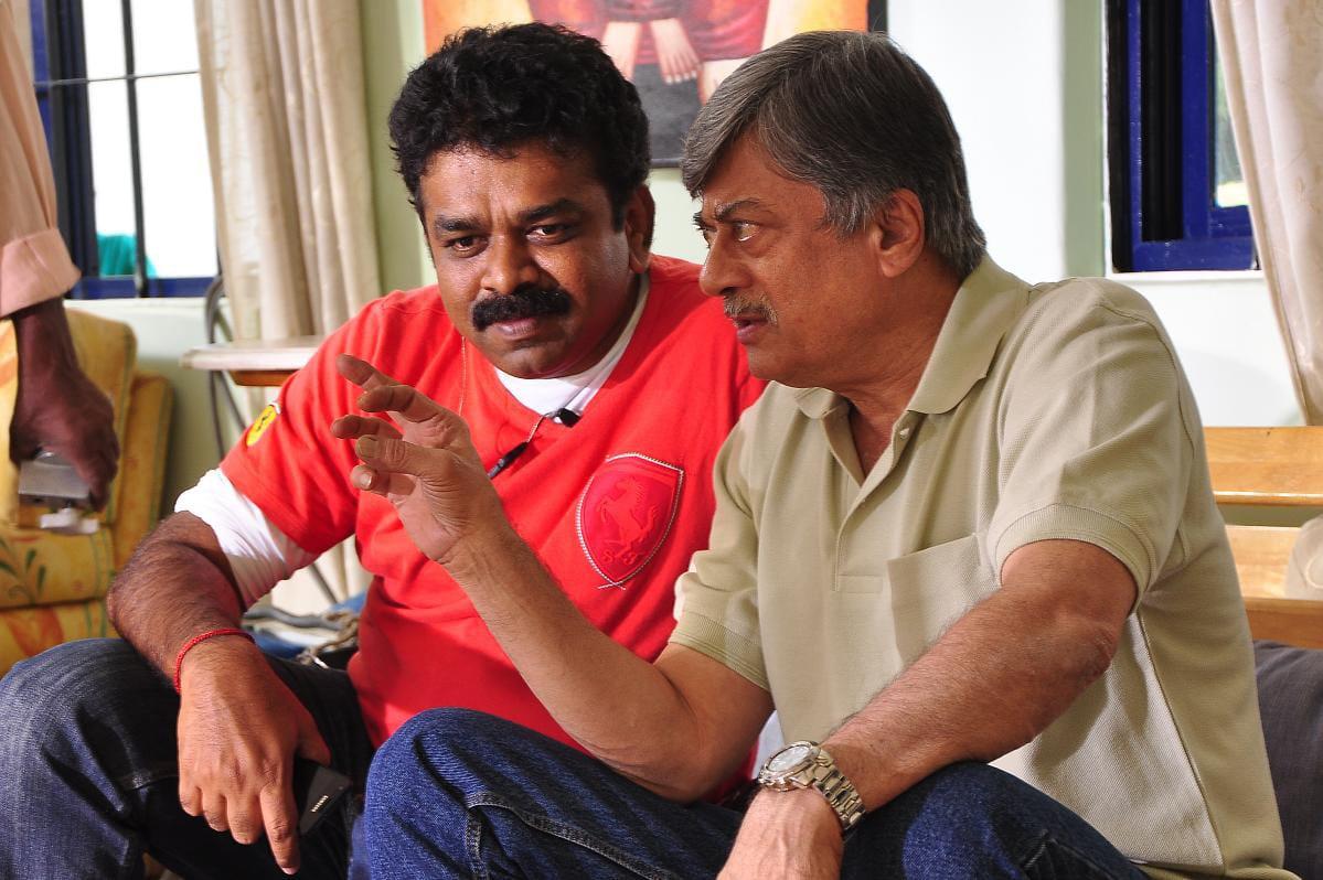 #KADDIPUDI  working stills Remembering the film with Dir #Suri @OnlyShivanna @PuneethRajkumar @karna03 #Cinematographerslife