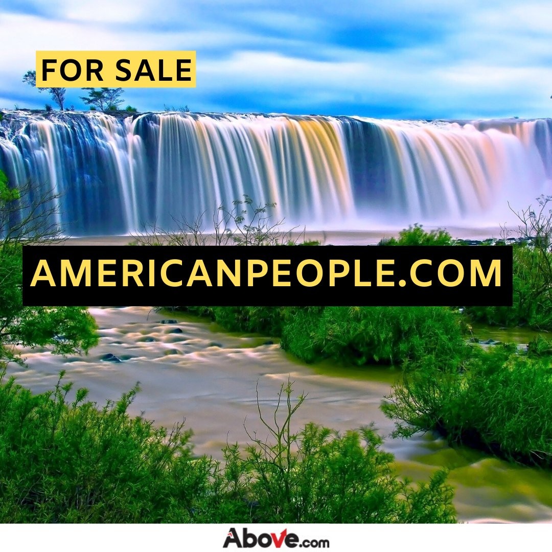 http://AMERICANPEOPLE.COM is for sale on the http://Above.com marketplace! Visit http://above.com/marketplace to make an offer.  #domainmarket #domainsforsale #forsale #domaininvestor pic.twitter.com/T6uQiVqy7J