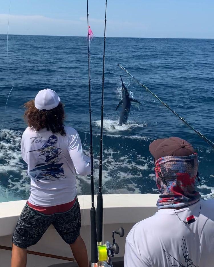 Los Suenos, CR - Manudito went 12-18 on Sailfish and 1-1 on Blue Marlin.