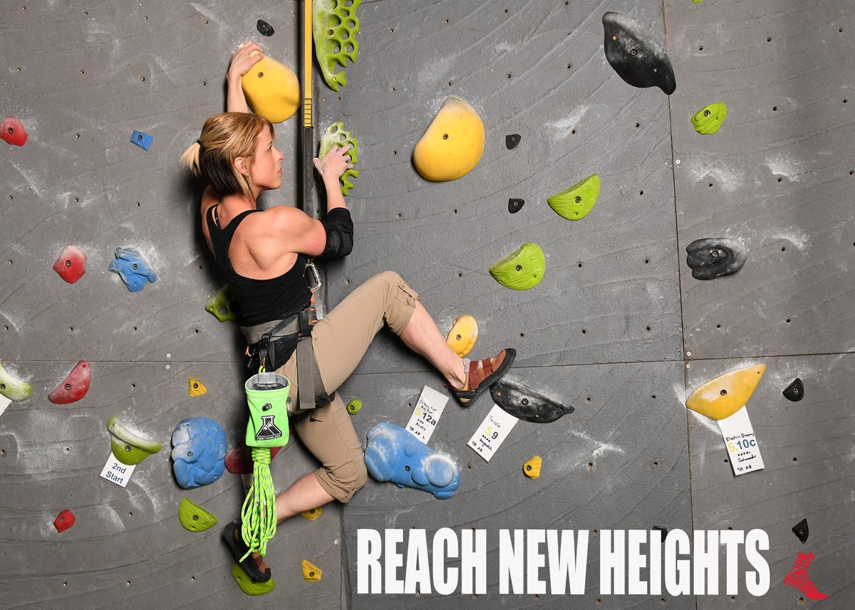 Push your self to believe that you can, and you will!  Putting strain on your joints while climbing can lead to pain in the future. Keep your joints #muellerready with braces and supports! https://hubs.ly/H0nwNdw0pic.twitter.com/QnUQkWkh4S