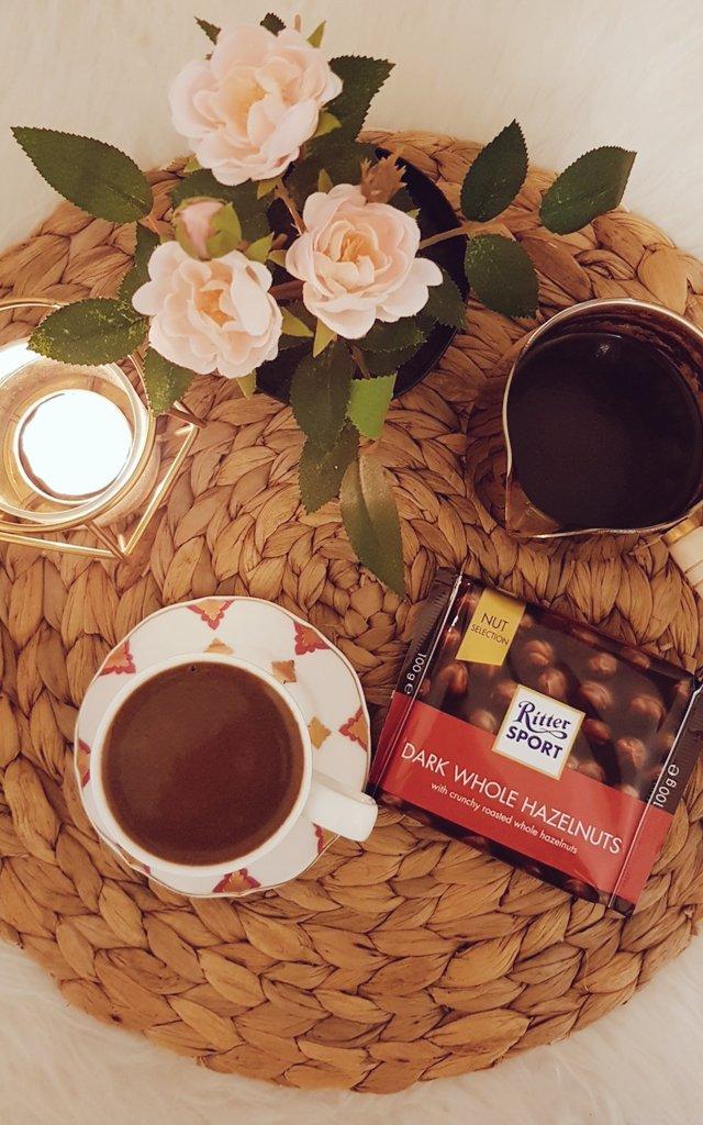 قهوة ومزاج رايق🤎 #قهوه