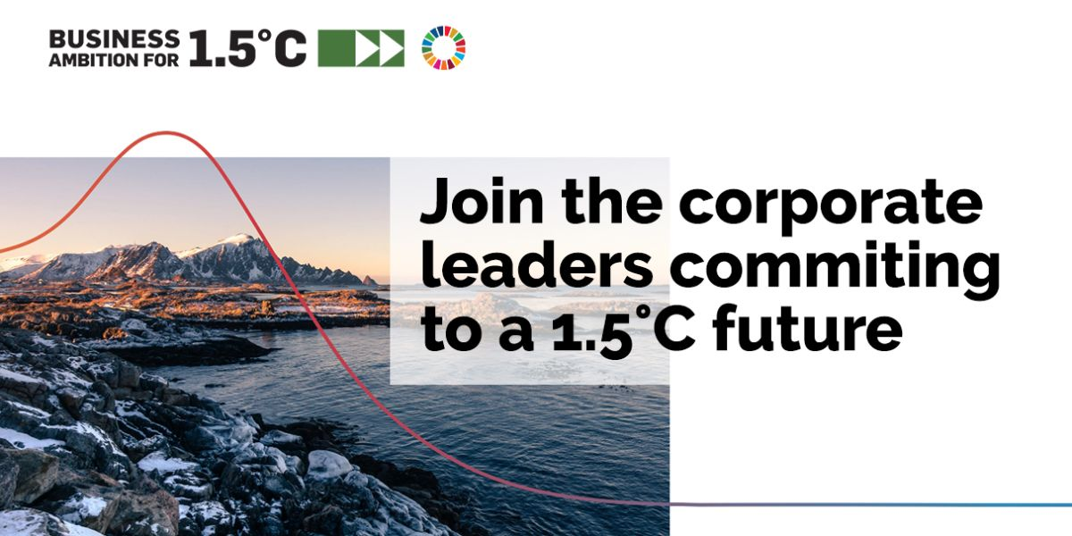 We urgently need to act on #ClimateChange & limit global warming to 1.5°C.  Join the visionary corporate leaders who are taking ambitious action: https://t.co/5tQPbpMTTW #OurOnlyFuture https://t.co/kGwEDliKCz