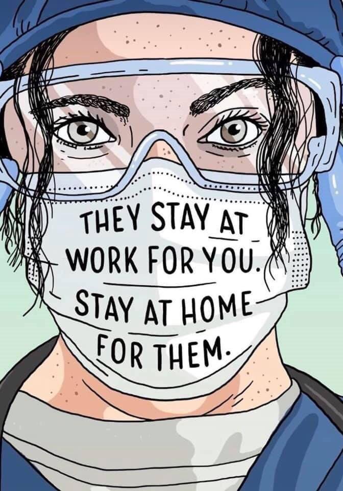 It's simple really. #SundayMotivation #coronavirus #COVID19 #StayAtHomeAndStaySafe