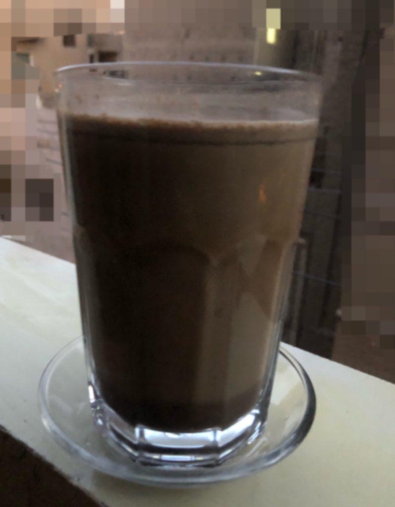 قهوة ساعة مغربية بجا في البلكونة😍 تع شرب #قهوة