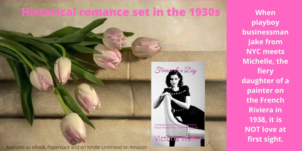 If you want to escape to the South of France for a moment this historical romance (ebook) is #free to download on Amazon today. 😊💕 #freebook #ASMSG #SundayRead #HistFic #historicalromance #booktip #romancenovel #stayinghome amazon.com/dp/B083V37WSL