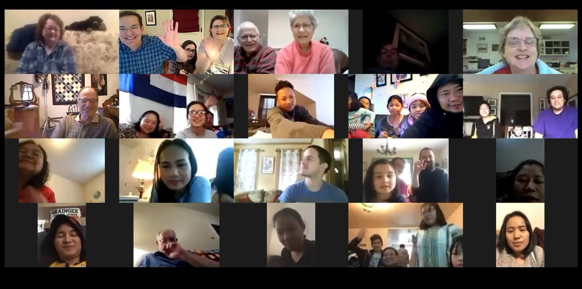 It was so good to worship with part of our church family this morning on Zoom! ~Habecker #Mennonite #LancasterPA #TheChurchIsNotABuildingpic.twitter.com/uJar0NasQB