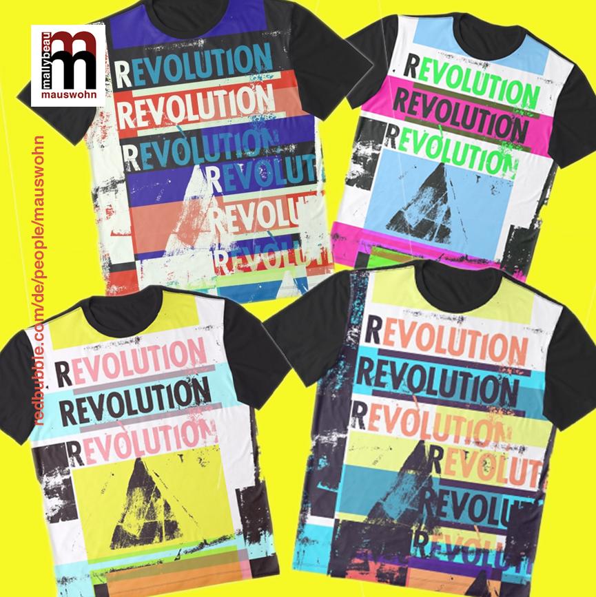 🏳️🌈🏳️🌈🏳️🌈☮️START A PEACEFUL REVOLUTION☮️🏳️🌈🏳️🌈 ❤️❤️Fashion and accessories for a colorful life❤️❤️  https://www.redbubble.com/de/shop/p/36188904.PM7U2…👈👈👈  #mauswohn #revolution #life #fashion #mode #outfit #art #design #typo #shopping