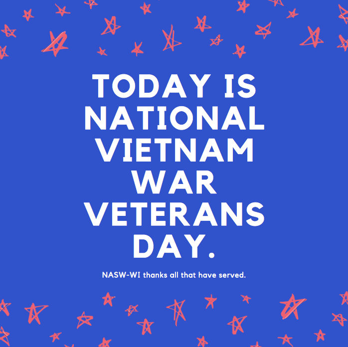 Today we remember and thank all those who serve in Vietnam - NASW-WI