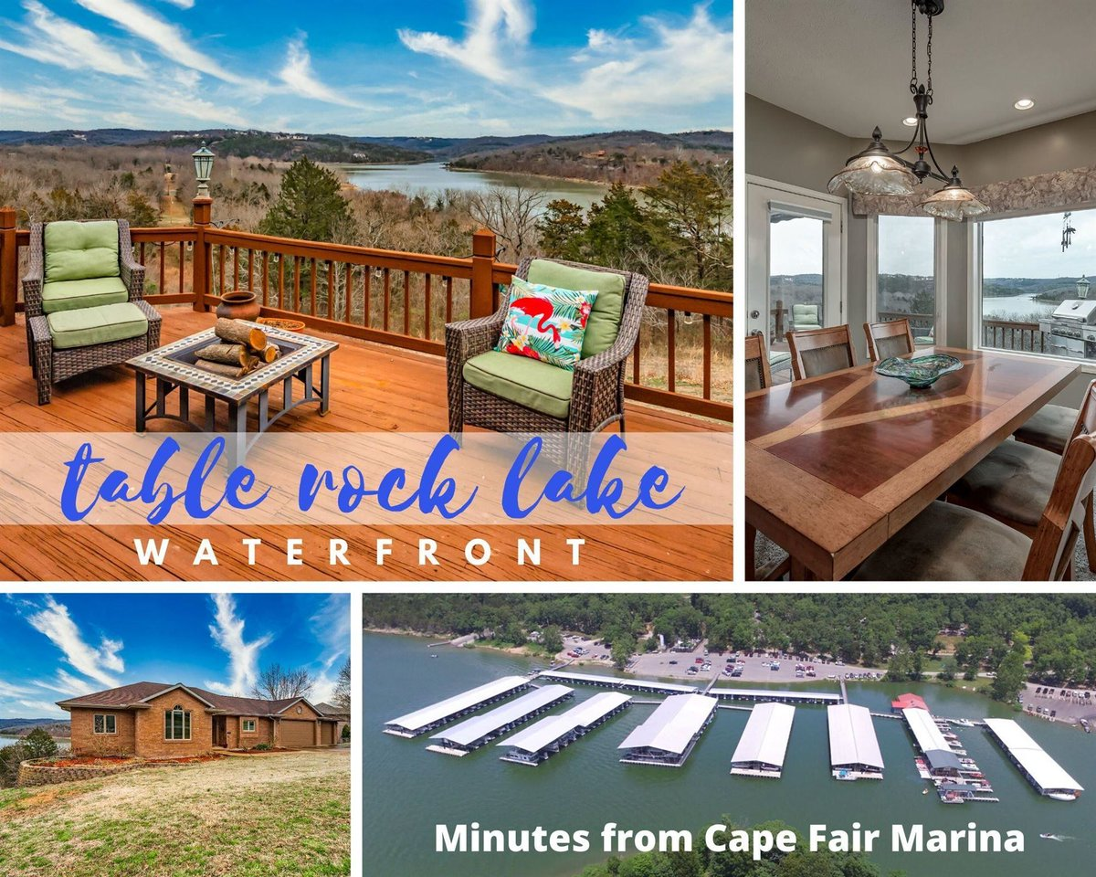Lakefront, Lakeview, & Lake-Ready, just in time for Summer! Come enjoy a brand new glorious, breathtaking, sunrise everyday on Table Rock Lake!  Call 417-300-9300 for  info #tablerocklakehomesearch #tablerocklake #lake #kwtl #auxarcsteam #kellerwilliams  https://buff.ly/2xenk7t