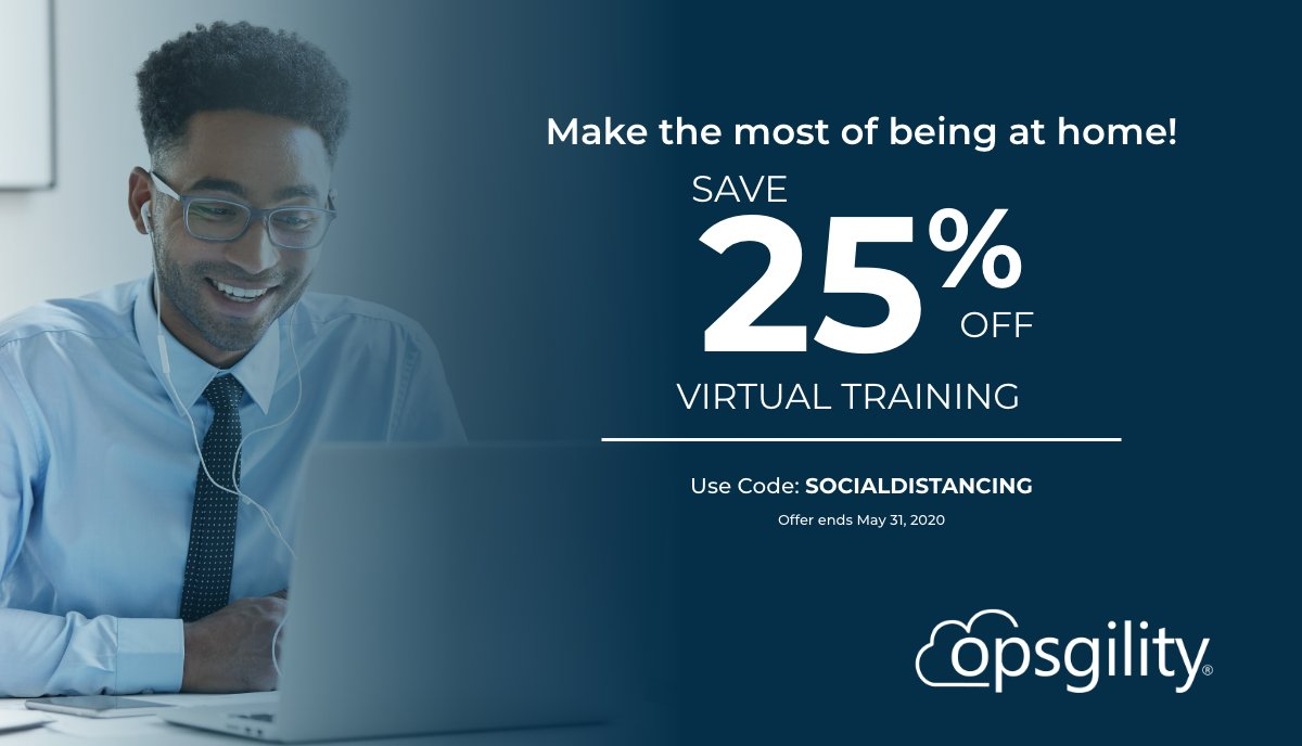 Spending a lot of time at home? Get #MicrosoftCertified in #Office365 and #Azure with virtual training! Sign up with code: SOCIALDISTANCING and save 25%! #Certification #Cloud #MSLearn #SocialDistancing #Developer #Data #Security #DevOps #Administrator http://ow.ly/9yaB50yYDXE